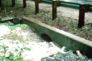 Roadway culvert under inlet control